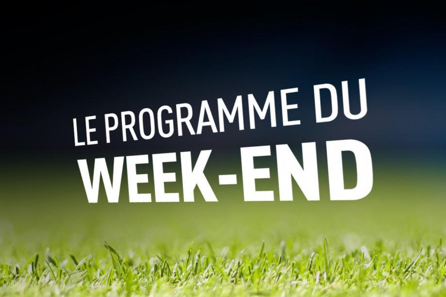 Programme du weekend au 3 & 4 Octobre