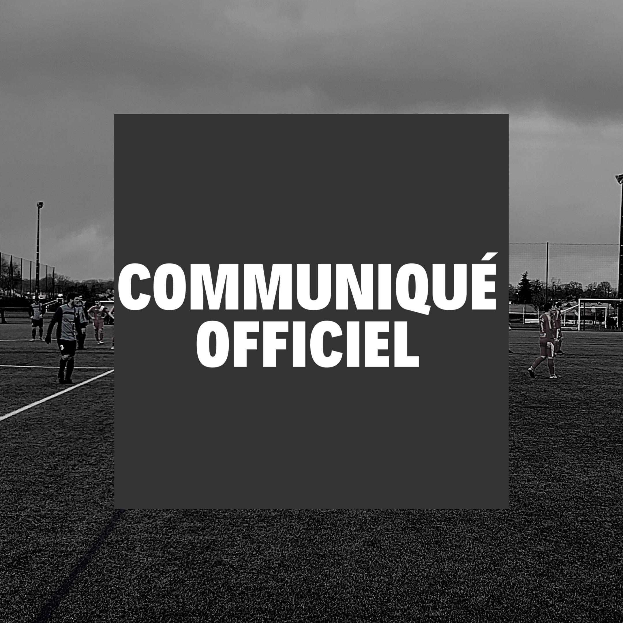 Communiqué Officiel : Covid-19