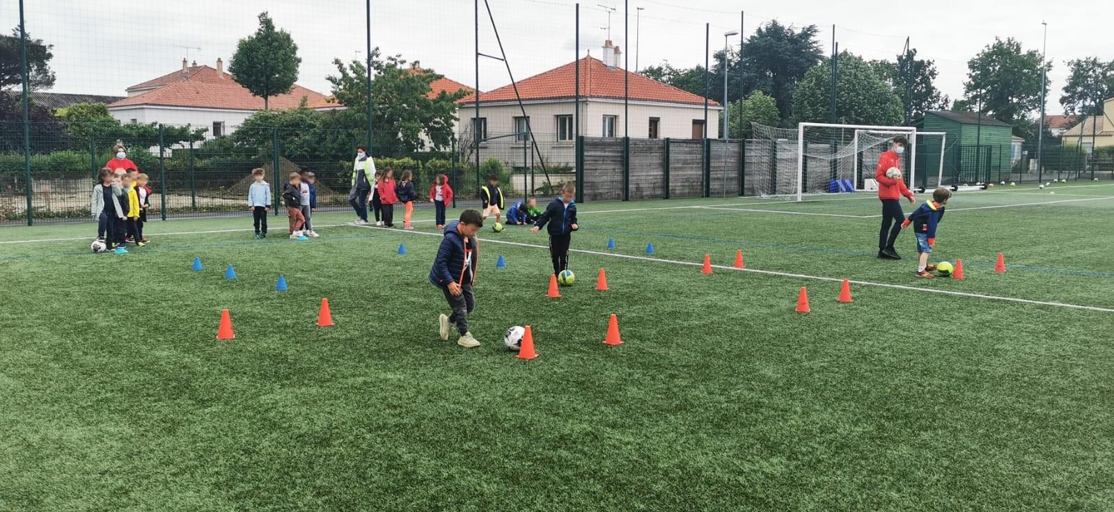 You are currently viewing Initiation au football pour les élèves de Saint Jean Baptiste