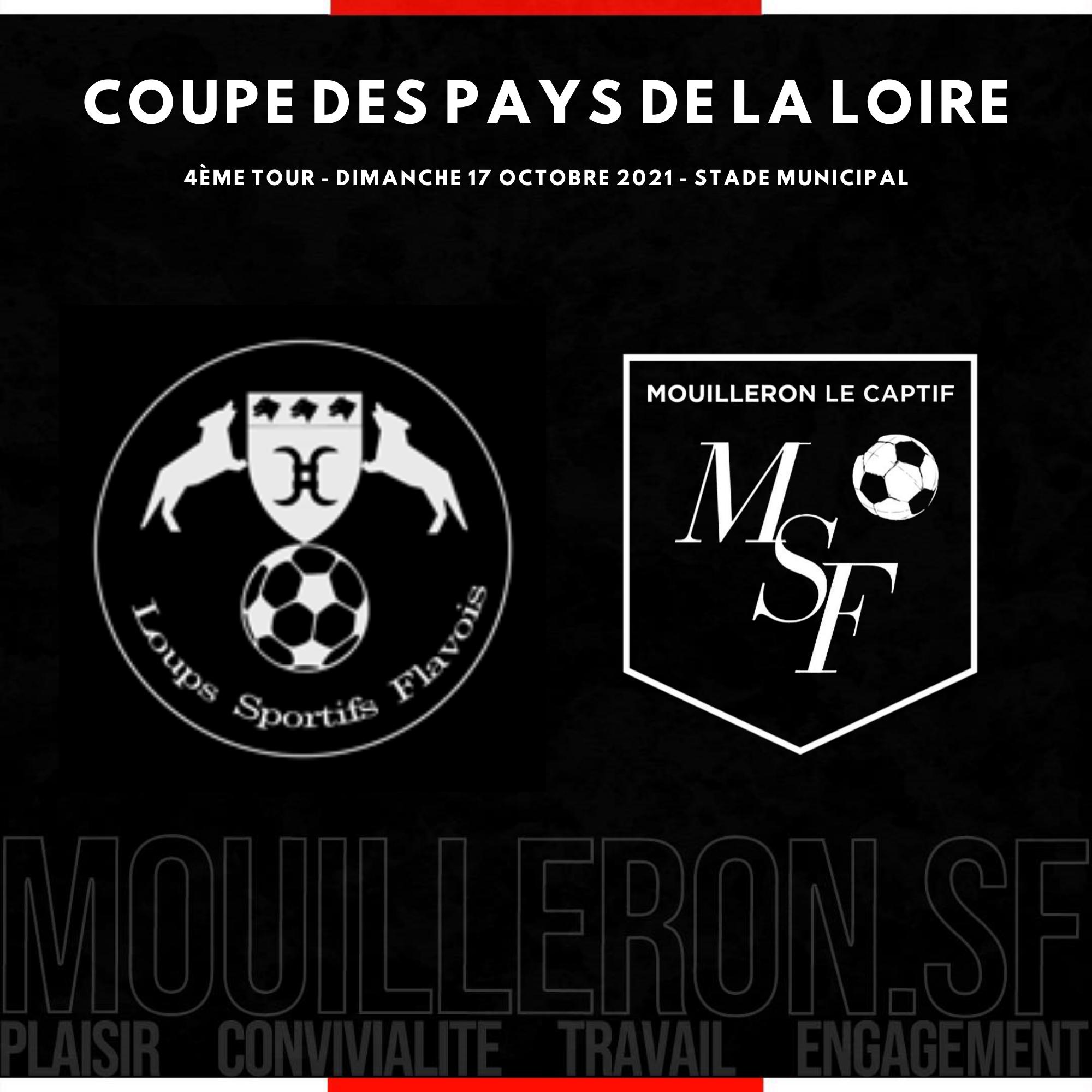 You are currently viewing Coupe de Pays de la Loire : tirage du 4ème tour